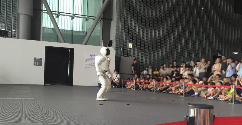 日本科学未来館 アシモ