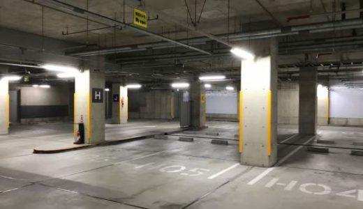 日本科学未来館地下駐車場