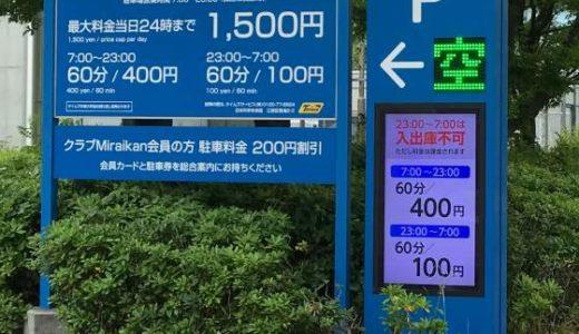 日本科学未来館駐車場