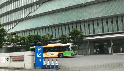 日本科学未来館 地下駐車場入り口