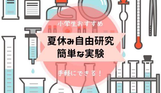 【夏休み自由研究!小学生】簡単にできる!氷・虹・10円玉・紫外線・表面張力