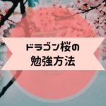 ドラゴン桜 勉強法