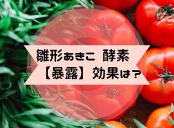 雛形あきこ 酵素サプリ uka