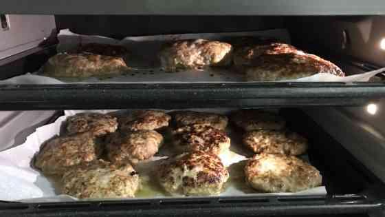 手作りハンバーグ オーブン