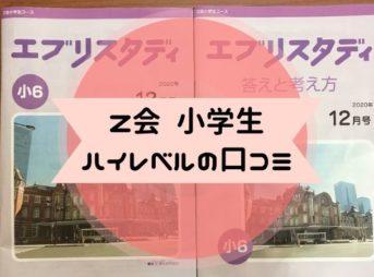 Z会小学生ハイレベル